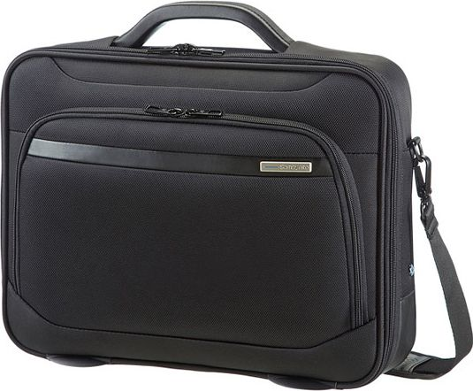 Case SAMSONITE 39V09001 16'' VECTURA, computer, tablet, docu, pocket, black portatīvo datoru soma, apvalks