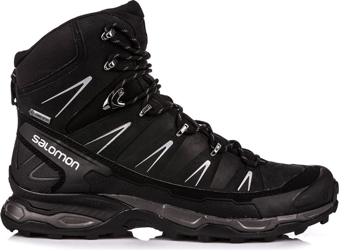 Salomon Shoes for men X Ultra Trek GTX Black / Black / Autobahn 43 1/3 Sporta apavi
