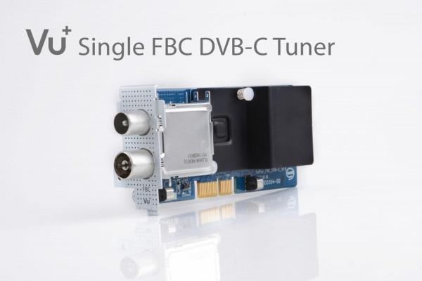 Vu+®, DVB-C FBC Tuner fur Uno 4K/Ultimo 4K (8 Demodulatoren) Satelītu piederumi un aksesuāri