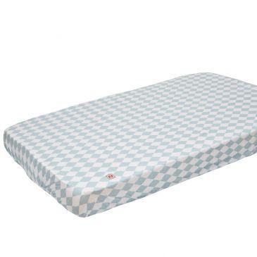 Lodger Slumber universāls kokvilnas palags ar gumiju, Silvercreek, 60x120/70x140 SB 045 aksesuāri bērniem