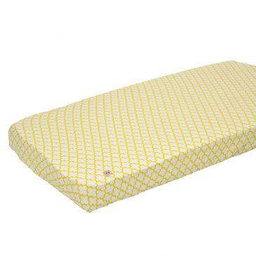 Lodger Slumber universāls kokvilnas palags ar gumiju, Gold, 60x120/70x140 SB 043 aksesuāri bērniem