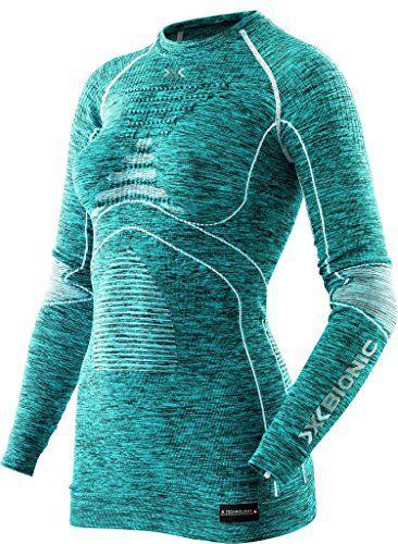 X-BIONIC Koszulka damska  X-Bionic  niebieska r. L/XL 025-Z0000-I100668A619003-803
