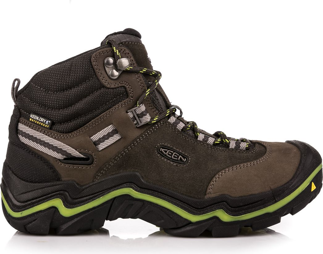 Keen Buty damskie Wanderer WP European Made Raven/Bright Chartreuse r. 37.5 (1014766) WANDERMW-WN-RVBC