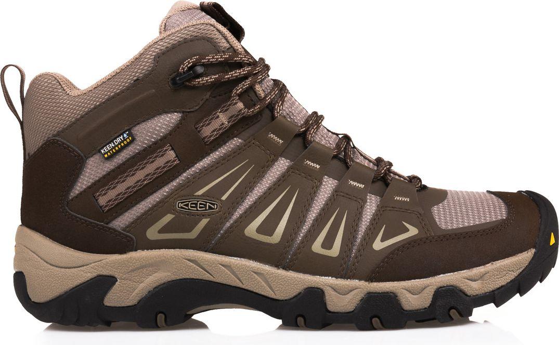 Keen Buty meskie Oakridge WP Mid Cascade/Brindle r. 47 (11535) OAKRIDGMW-MN-CSBR Tūrisma apavi