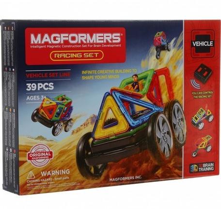MAGFORMERS Racing set konstruktors