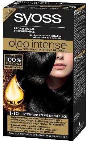 Syoss Farba do wlosow Oleo 1-10 intensywna czern 68815277