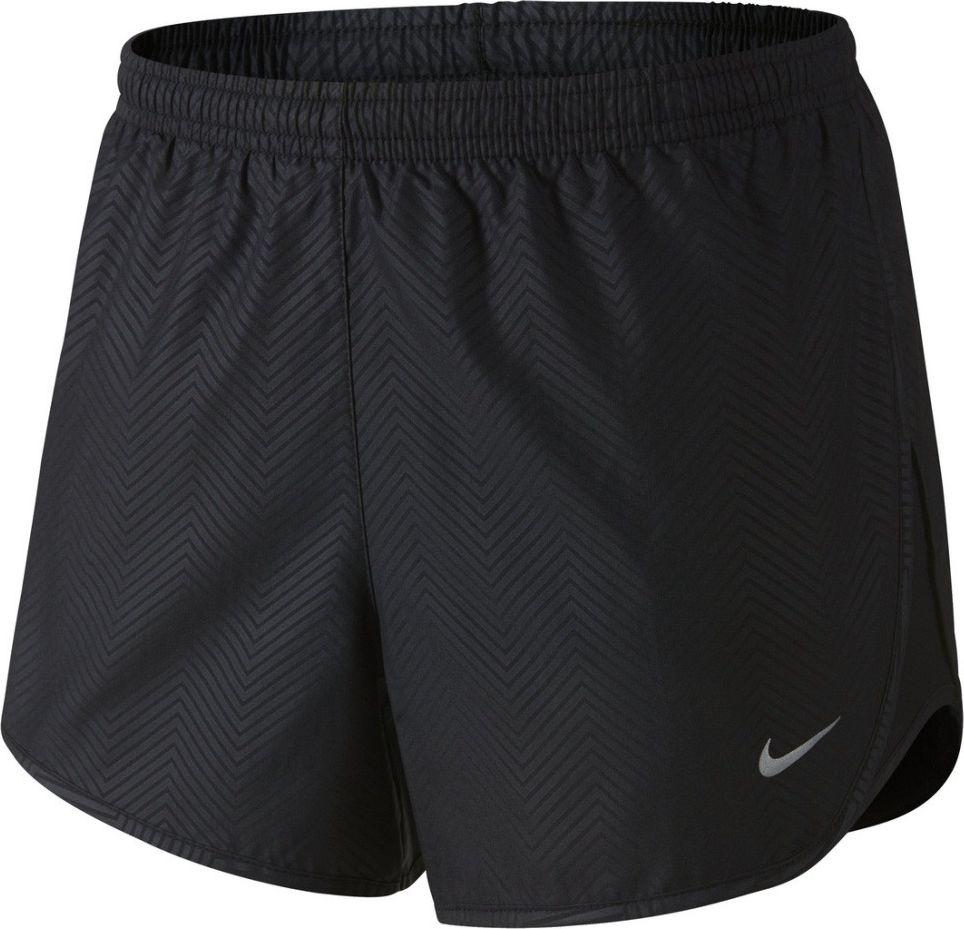 Nike Spodenki damskie Modern Embossed Tempo Short Nike  czarne r. L (645561010) 645561010