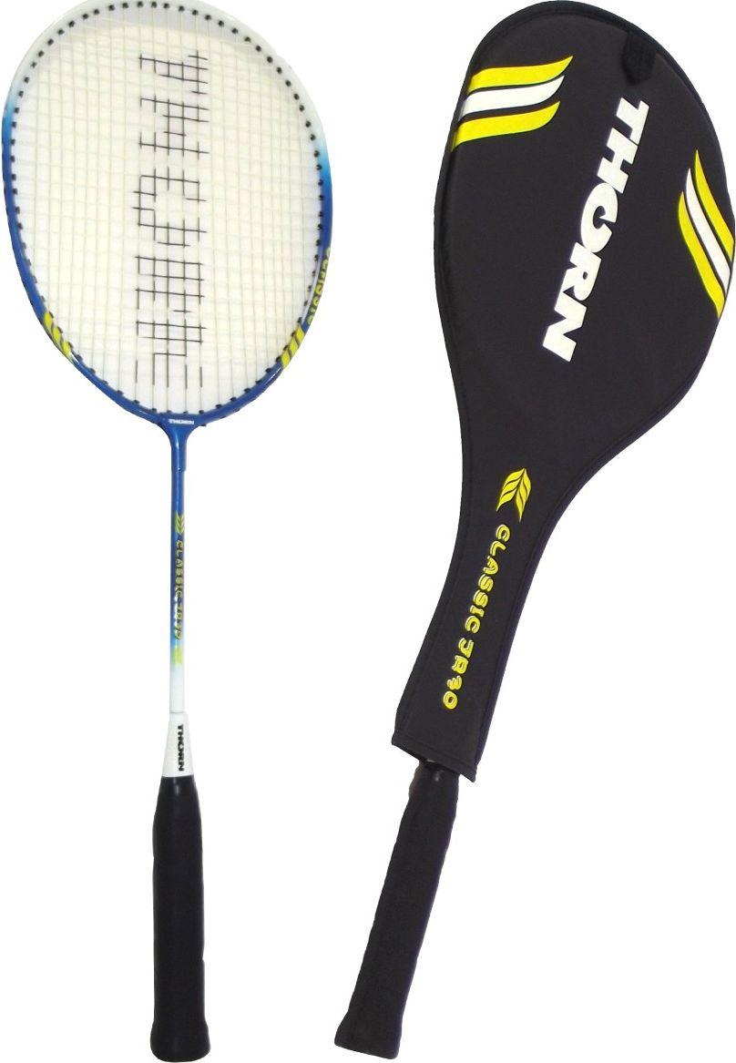 Victoria Sport Rakieta badminton w pokrowcu JR30 niebieska 4722502 badmintona rakete