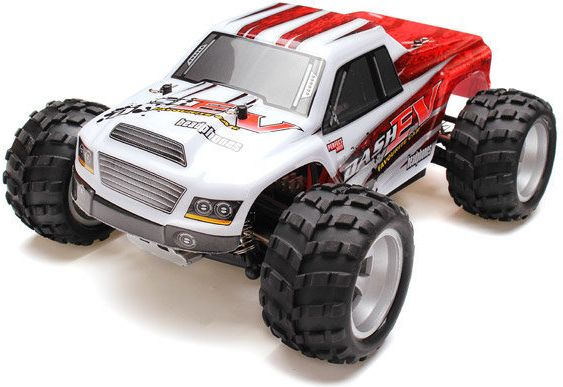 WL TOYS Monster Truck RC model in 1:18 scale. A979-B 70km / h Radiovadāmā rotaļlieta