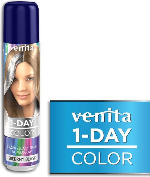 Venita 1-Day color spray 6 srebrny blask V303