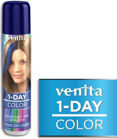 Venita 1-Day color spray 5 kosmiczny granat V300