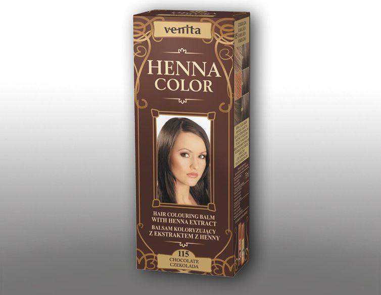 Venita Ziolowe Balsamy Henna Color 115 Czekolada 75ml V1104
