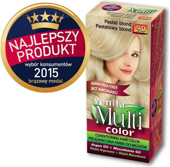 Venita Farba bez amoniaku Multi Color  9.0 pastelowy blond V1038