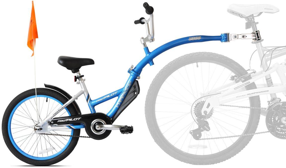 WeeRide Rower doczepiany dla dzieci Pro-Pilot Aluminium uniwersalny 16751368887