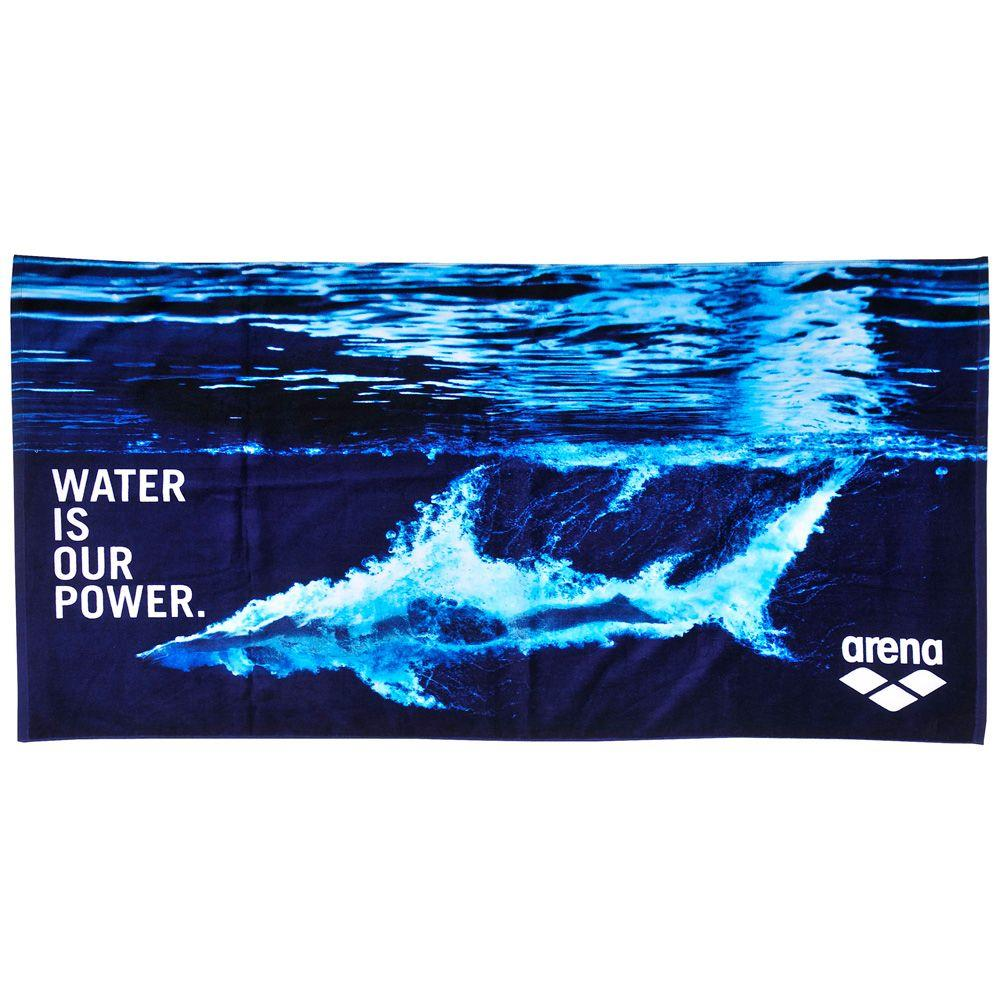 Towel Arena 000885/885 (75x150 cm; blue color)