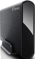 FANTEC DB-ALU3  8.9 cm (3.5 ) - SATA 1.5Gb / s - USB3.0 - Black (1434) cietā diska korpuss