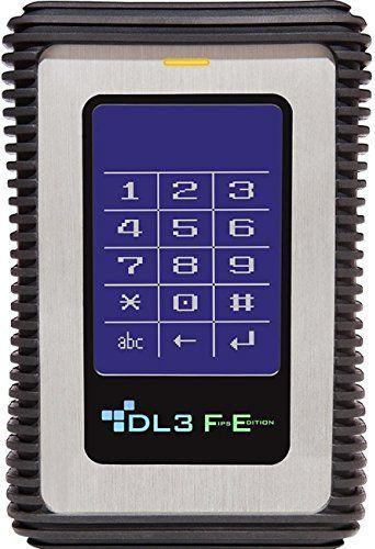 Dysk zewnetrzny DataLocker DL3 FE 2TB (FE2000RFID) FE2000RFID Ārējais cietais disks