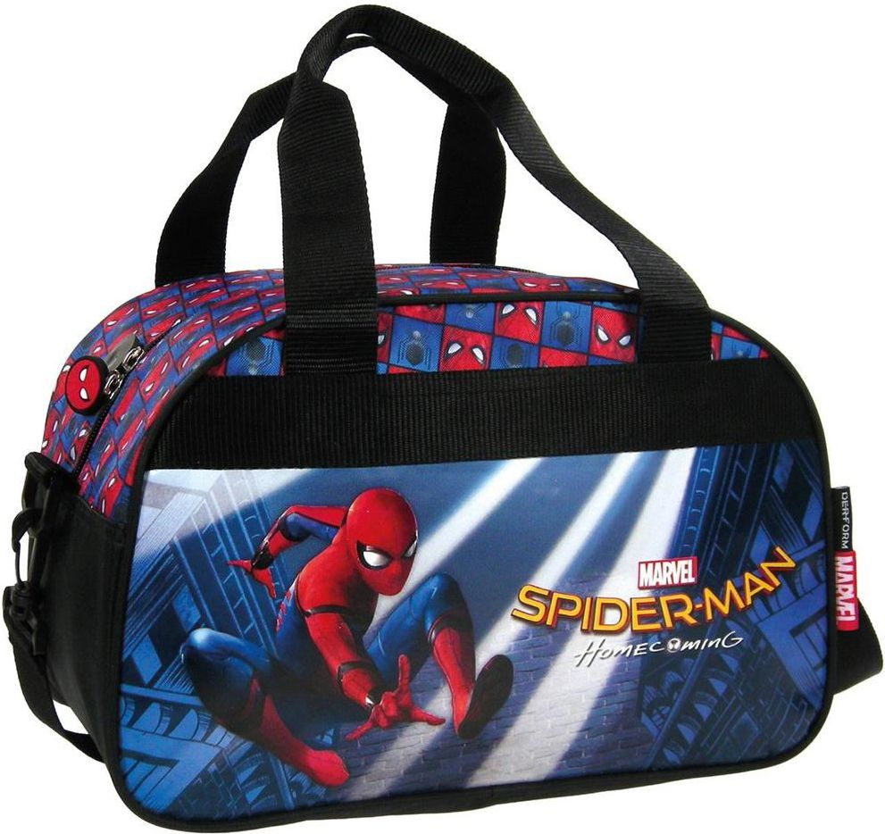 Derform Torba podrozna Spider-Man Homecoming 10 - DERF.TPSH10 DERF.TPSH10 Tūrisma Mugursomas