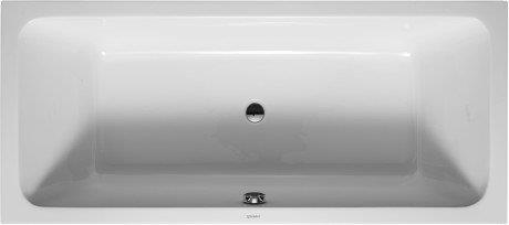 Duravit Bathtub rectangular D-code 180 x 80cm acrylic white (700101000000000)