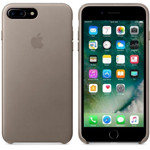 Apple IPhone 7 Plus Leather Case - Taupe