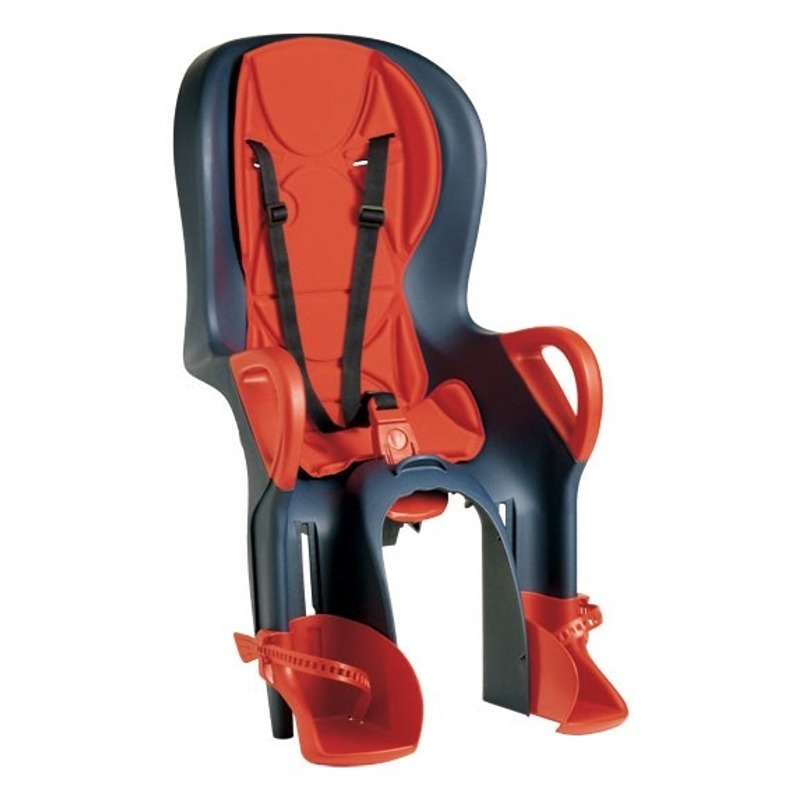 10+ Rear Seat with ABS Blue/Rosso 37226022