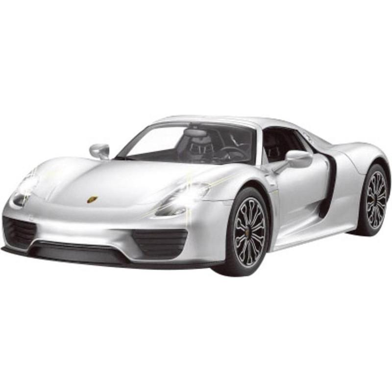Jamara Porsche 918 Spyder 1:14 silber 27Mhz               6+ Radiovadāmā rotaļlieta