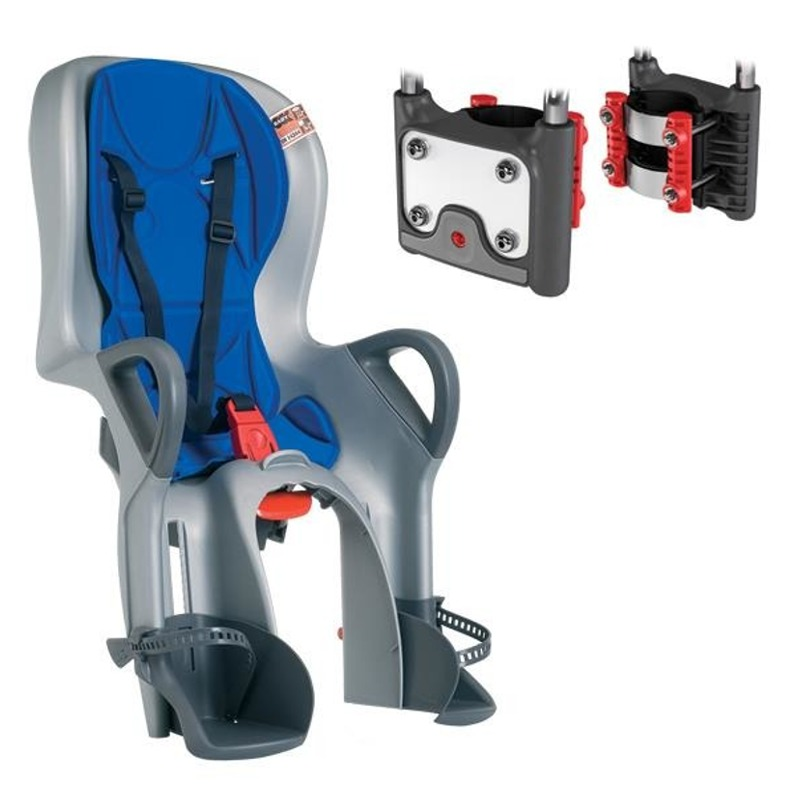 10+ Rear Seat with ABS Argento/Bluette 37226029