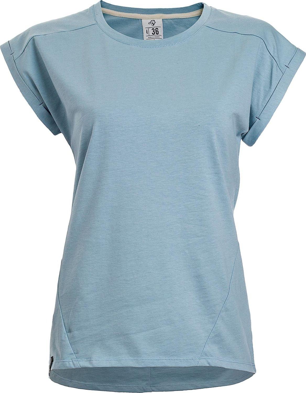 Woox Bawelniany T-shirt Damski | Blekitny Apertus Venetus -  44 - 44 8595564797562
