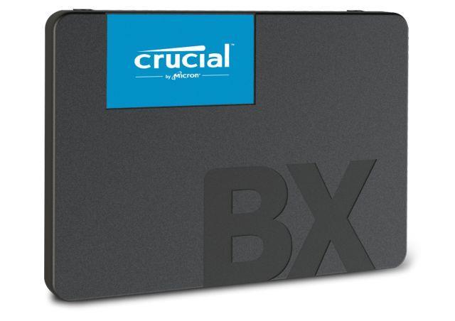 Crucial SSD BX500 120GB, 3D NAND, SATA III 6 Gb/s, 2.5-inch SSD disks