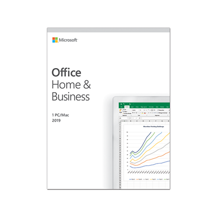 Microsoft T5D-03183 Office Home and Business 2019 ESD, Multilingual programmatūra