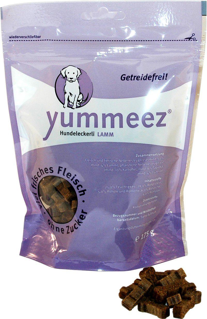Yummeez Kosteczki Jagniece 175g 004920