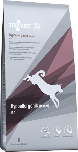 TROVET Hipoallergenic Insect IPD - 10 kg barība suņiem