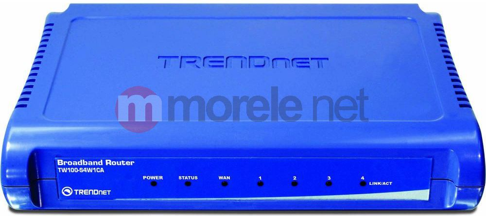 Router TRENDnet TW100-S4W1CA WiFi Rūteris