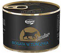 Lukow Natural Taste Junior Bogata w Tunczyka puszka - 185g VAT006299 kaķu barība