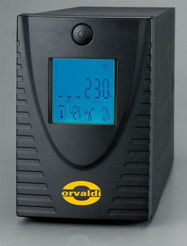 ORVALDI 600LCD 4 outlets IEC320 bat nepārtrauktas barošanas avots UPS