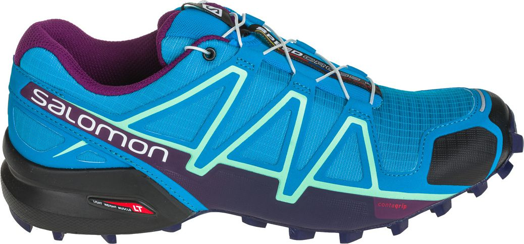 Salomon Buty damskie Speedcross 4 Hawaiian Surf/Astral Aura/Grape Juice r. 40 (398422) 398422