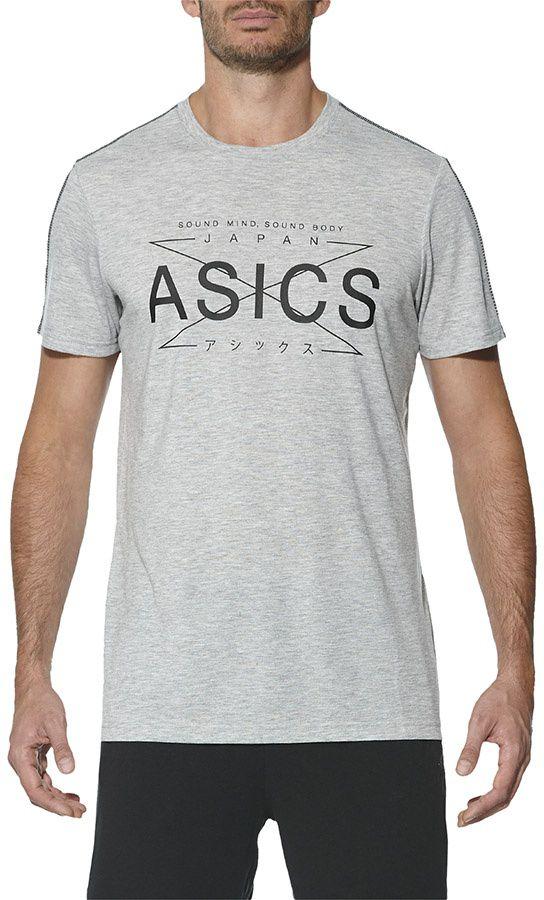 Asics Koszulka meska Zatoichi Top szara r. M (141816 0714) 141816 0714