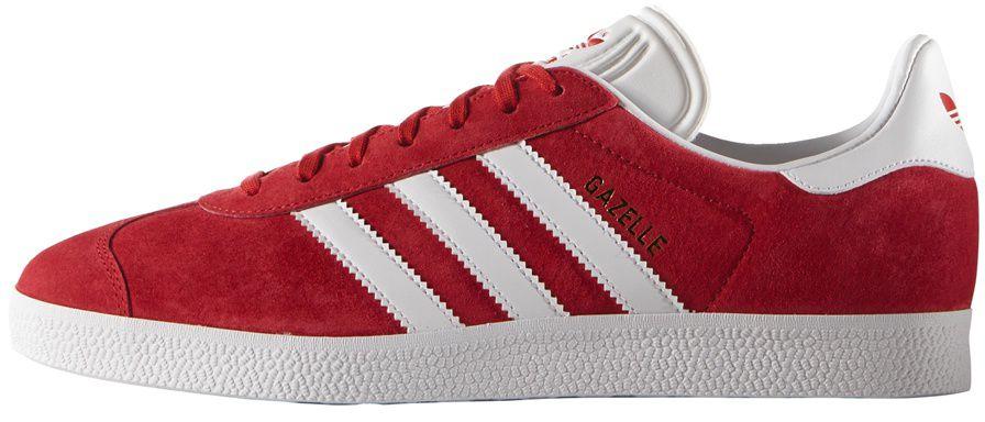 Adidas Buty meskie Originals Gazelle czerwone r. 44 2/3 (S76228) S76228