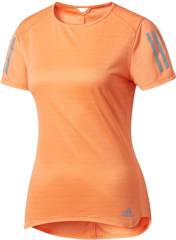 Adidas Koszulka damska Response Tee pomaranczowa r. XS (BP7455) BP7455