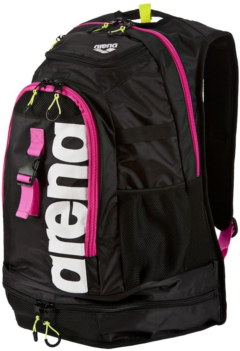 Rucksack Arena Fastpack 2.1 (45Arena Sports backpack Fastpack 2.1 45L black-fuschia-white (1E388 / 95) Tūrisma Mugursomas