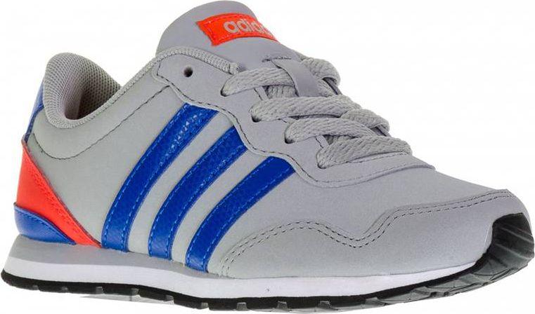 Adidas Buty dzieciece V Jog K szare r. 36 2/3 (AW4147) AW4147