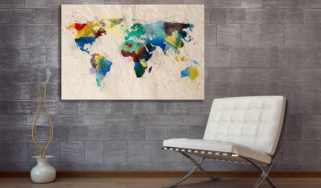 Artgeist Obraz - Swiat kolorow 90x60 BP-N2044-DKX