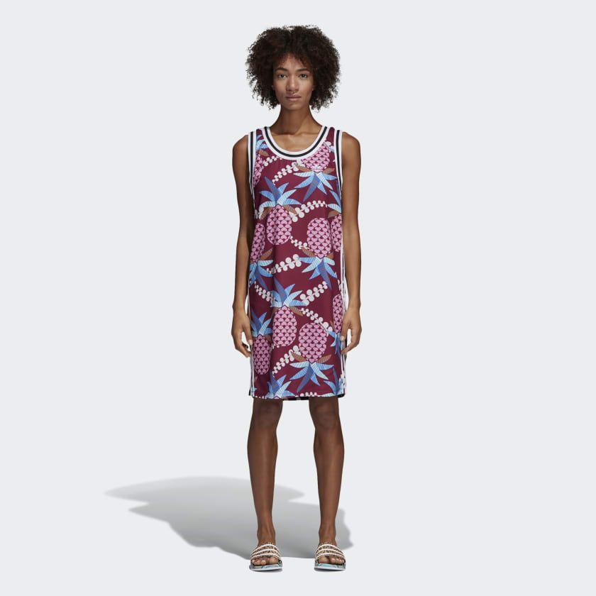 Adidas Sukienka Originals Tank Dress czerwona r. 36 (CW4726) CW4726 Kleitas sievietēm