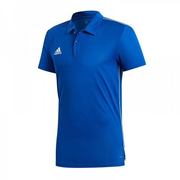 Adidas Koszulka pilkarska CORE 18 Polo niebieska r. XL (CV3590) CV3590