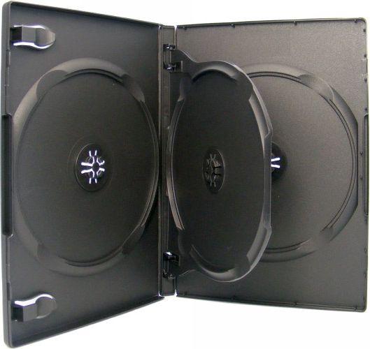 XLayer DVDBox 3 DVDs XLayerPro black