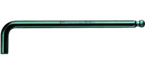Wera hex Allen key, type L 3mm with ball (05027104001)