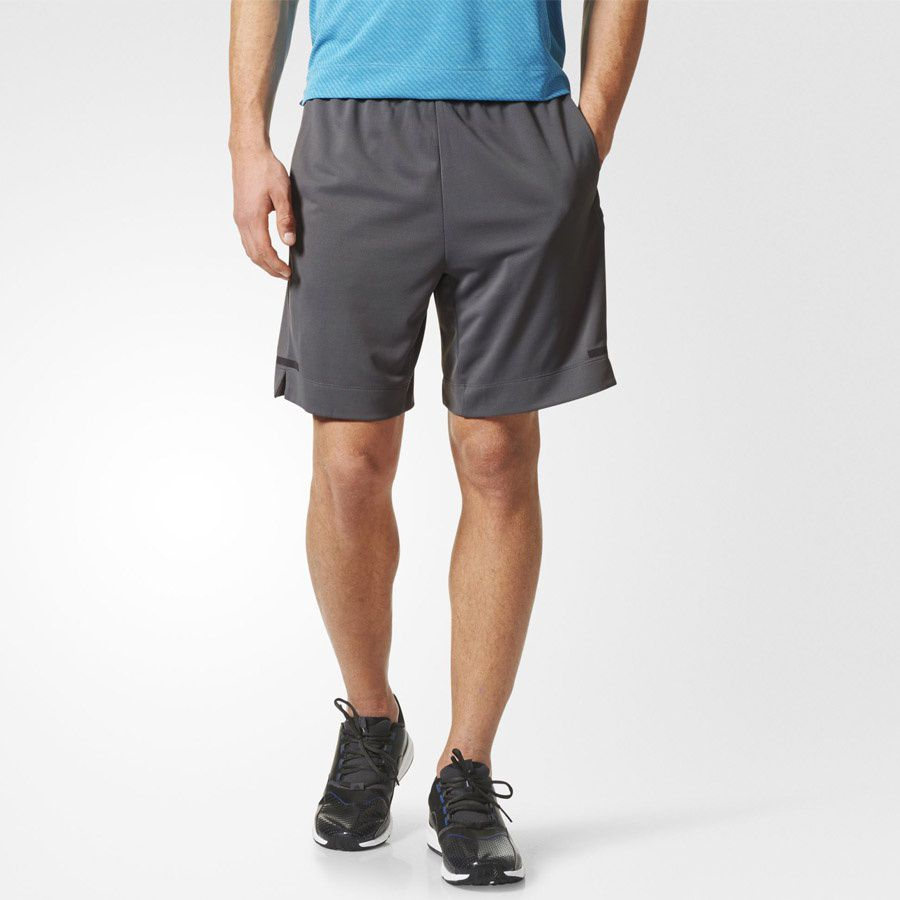 Adidas Spodenki meskie ClimaChill  szare r. S (BR9120) BR9120