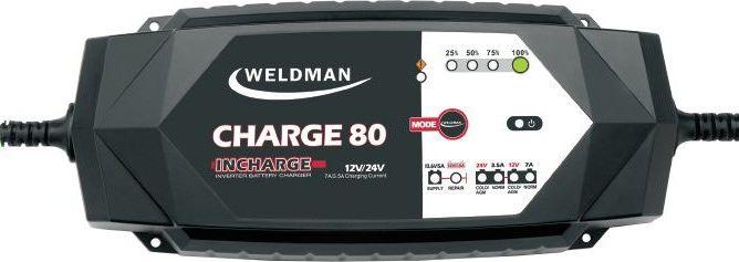 Weldman Prostownik Charge 80 230V 14-230Ah (104 503) 104503 auto akumulatoru lādētājs