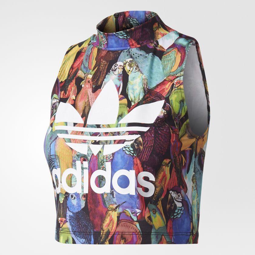 Adidas Koszulka damska Passaredo Multikolor r. 40 (BR5162) BR5162