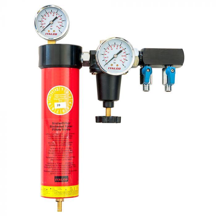 Airpress Zestaw Filtr wodny + Reduktor (I01) I01